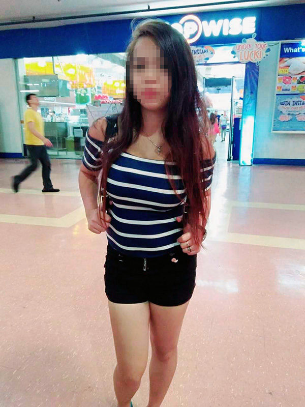 フィリピンの美容部員をゲット