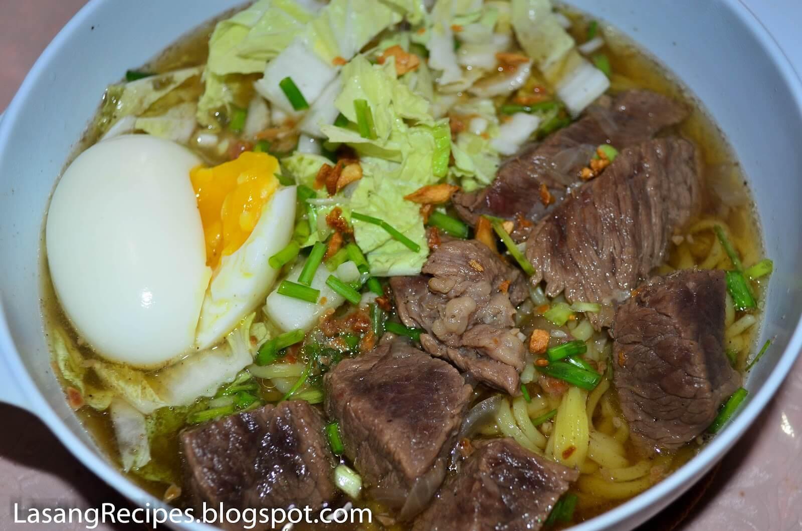 フィリピン料理マミ