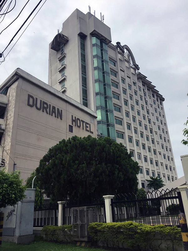 フィリピンのホテルに幽霊が出た