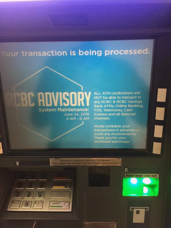 フィリピンのATMで現地通貨を引き出す方法