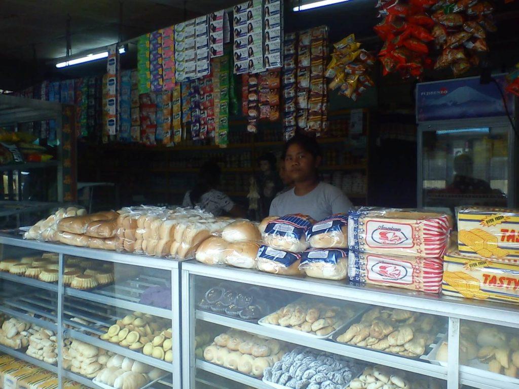 フィリピンのパン屋