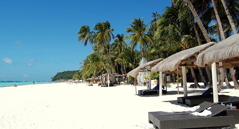 フィリピンのビーチリゾート