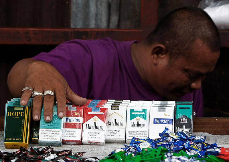 フィリピンの喫煙事情