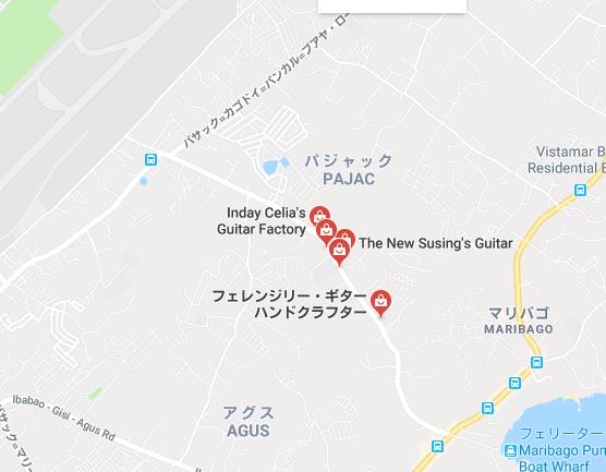 マクタンのギター工場