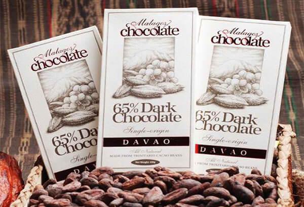 Davao産チョコレート